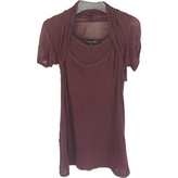 Isabel Marant Brown Cotton Top