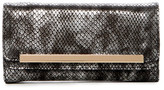 Urban Expressions Shadow Snake Embossed Vegan Leather Wallet