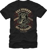 Fifth Sun Gas Monkey Hot Rod Garage Mens L Graphic T Shirt