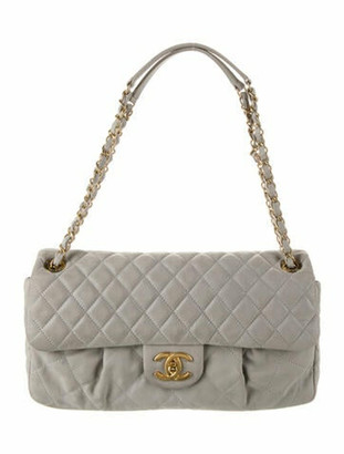 Chanel Chic Quilt Flap Bag Grey