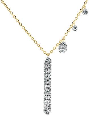 Sabrina Designs 14K 0.23 Ct. Tw. Diamond Necklace