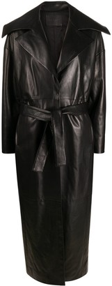 Drome Long Belted Coat