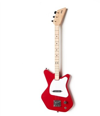 Loog Pro 3-String Electric Guitar Red
