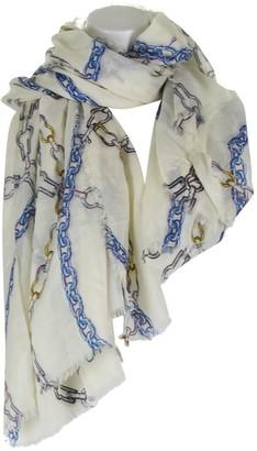 Louis Vuitton Ecru Cashmere Scarves