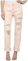 Blank NYC Pale Pink Distressed Relaxed Rip in Ditz