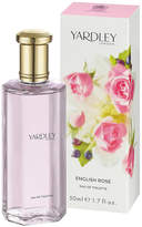 Yardley London English Rose Eau de Toilette by 50ml Perfume)
