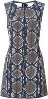 Marc Jacobs printed panel dress - women - Silk - 2