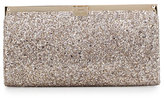 Jimmy Choo Camille Metallic Frame Clutch Bag, Nude