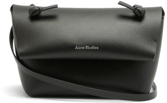 Acne Studios Knotted-strap Mini Leather Cross-body Bag - Black