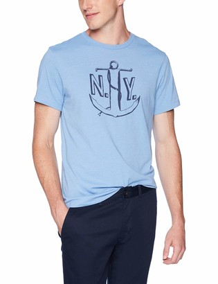 J.Crew Mercantile Men's NY Anchor Graphic T-Shirt