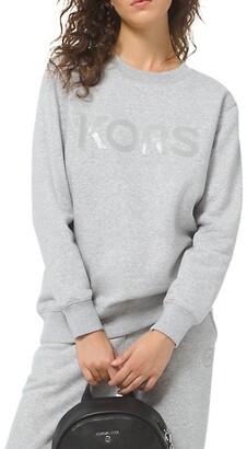 MICHAEL Michael Kors Tonal Organic Cotton Sweatshirt