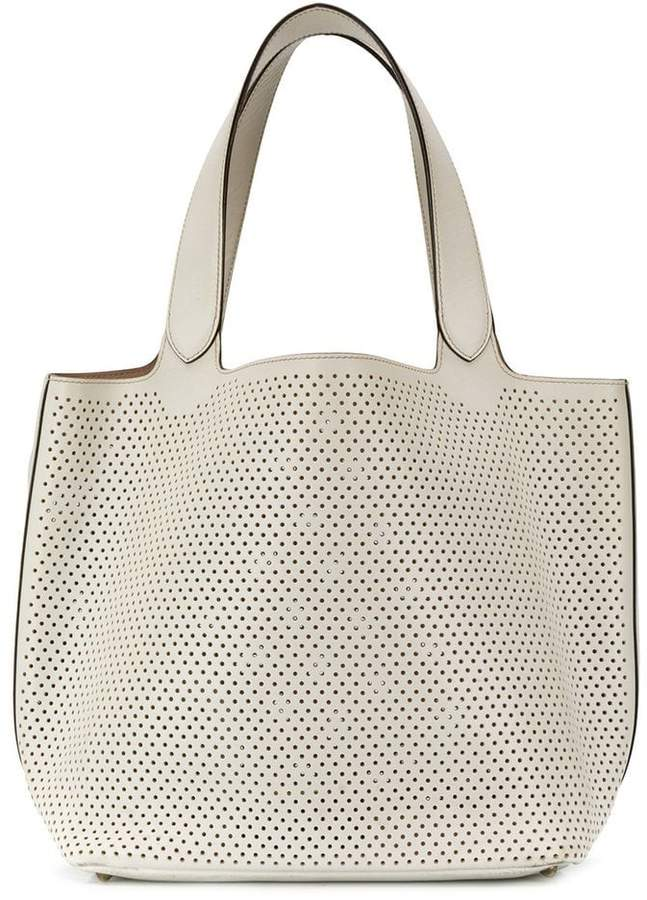cabbefff689754 Perforated Totes - ShopStyle