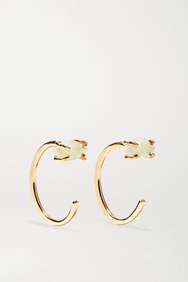 Melissa Joy Manning 14-karat Gold Opal Earrings - one size