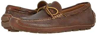 Trask Dillon (Saddle Tan) Men's Slip-on Dress Shoes