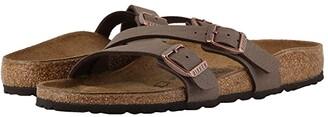 Birkenstock Yao (Mocha Birkibuc) Women's Sandals