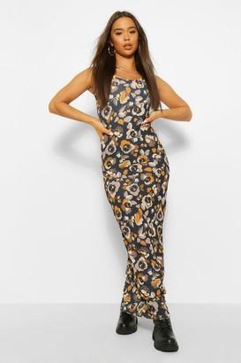 boohoo Bohemian Floral Maxi Dress