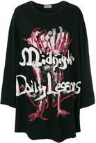 Yohji Yamamoto Midnight Daily Lessons sweatshirt