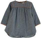 Ketiketa Baby Marianne Embroidered Chambray Dress