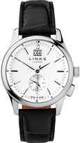 Links of London 6020.1145 Regent stainless steel and leather watch