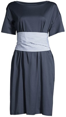 Max Mara Borneo Tie-Waist T-Shirt Dress