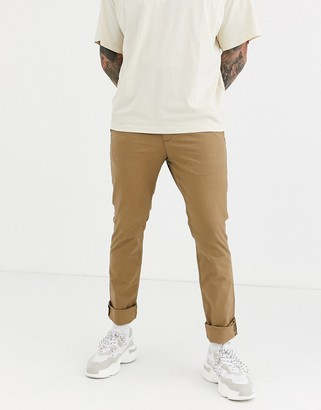 Celio slim chino in tan