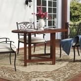 Beachcrest Home Pine Ridge Folding Solid Wood Dining Table