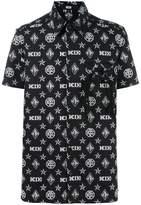 Kokon To Zai monogram print shortsleeved shirt