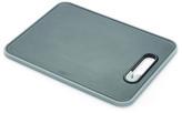 Joseph Joseph Slice and Sharpen Chopping Board - Black - Small