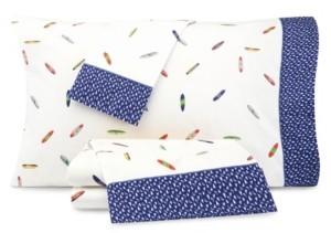 Nautica Surfboard Print Twin Xl Sheet Set Bedding