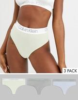 Calvin Klein Body Cotton 3 pack high waist thong