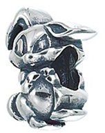 Zable Easter Bunny Occasions Holidays Sterling Silver Charm