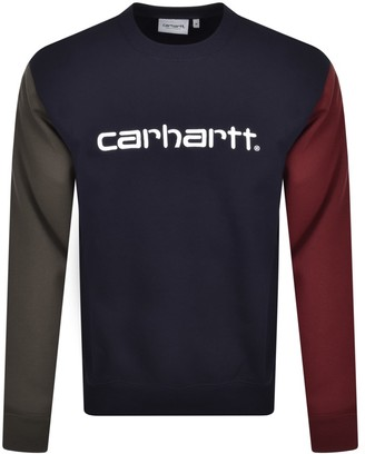 Carhartt Tricol Sweatshirt Navy