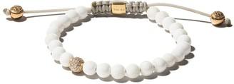 Shamballa 18kt yellow gold Jewels diamond beaded bracelet
