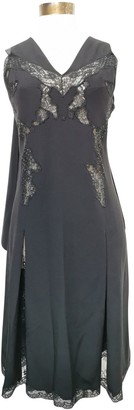 Louis Vuitton Black Silk Dresses