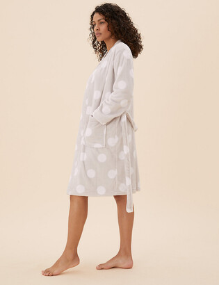 Marks and Spencer Polka Dot Short Dressing Gown