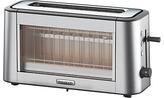Kenwood TOG800CL Persona Glass 2-Slice Toaster, Chrome