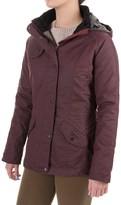 Barbour Millfire Waxed-Cotton Jacket - Waterproof, Insulated (For Women)