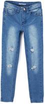 KensieGirl Medium Blue Faded Denim Jeans - Girls