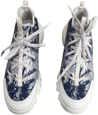 Christian Dior D Connect Multicolour Cloth Trainers