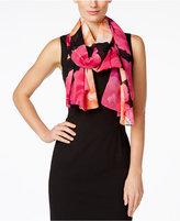 Calvin Klein Floral Print Oblong Scarf