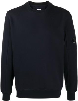 C.P. Company Lens embellished cotton sweatshirt