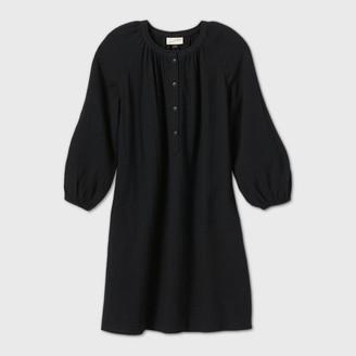 Universal Thread Women's Long Sleeve Shirtdress - Universal ThreadTM
