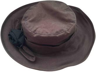 Barbour Brown Cotton Hats