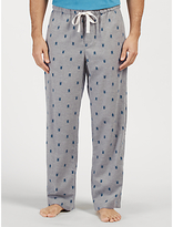John Lewis Stag Beetle Print Lounge Pants, Grey