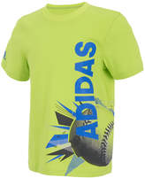 adidas Soccer-Print Cotton T-Shirt, Toddler Boys