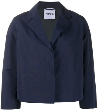 Aspesi Trenetta box-cut blazer