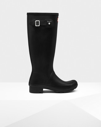 Hunter Women's Original Tour Foldable Tall Rain Boots