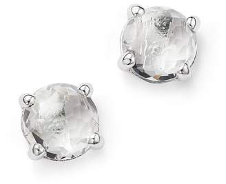 Ippolita Rock Candy® Sterling Silver Mini Stud Earrings with Clear Quartz