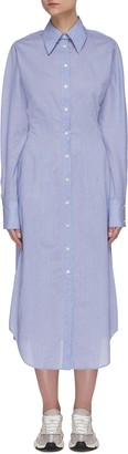 Acne Studios Cinched waist shirt dress