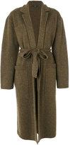 Joseph belted cardi-coat